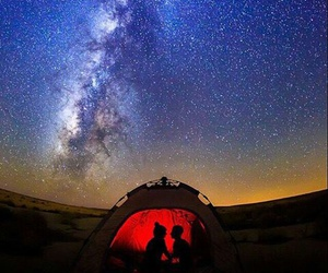 fire, me, and stars image