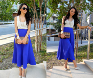 maxi skirt outfits image