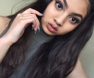 contour, eyebrows, and eyeliner image