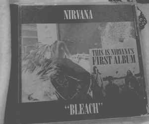 bleach, dave grohl, and kurt cobain image
