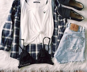 outfits, shorts, and style image