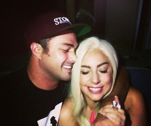 Lady gaga, taylor kinney, and love image
