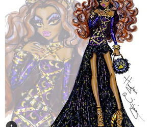 hayden williams, monster high, and clawdeen wolf image