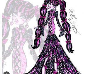 monster high, hayden williams, and draculaura image