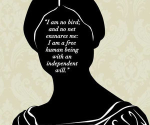 bird, drawing, and jane eyre image