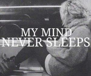 mind, sleep, and never image