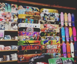 skateboard, sk8, and skate image