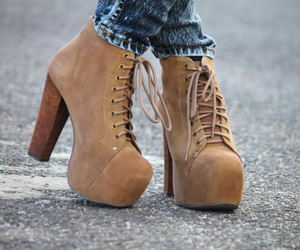 jeffrey campbell, lita, and shoes image