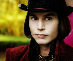 johnnydepp, Willy Wonka, and chocolat image