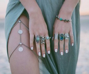 accessories, hippie, and girl image