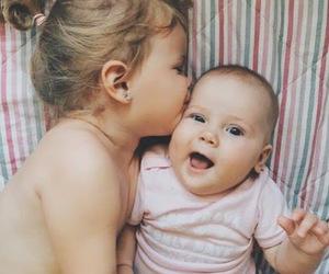 babies, baby girl, and couple image