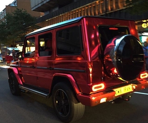 luxury, car, and red image