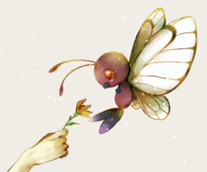 pokemon and butterfree image