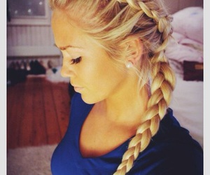 braid and hairstyle image