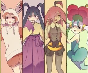 pokemon, spinda, and audino image