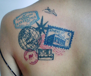 travel and tattoo image