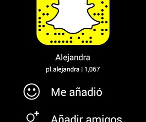 follow, snapchat, and friends image