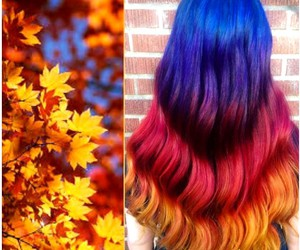 dyed hair, inspiration, and style image