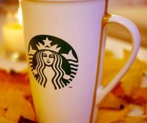 starbucks, fall, and autumn image