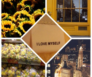 bright, buildings, and Collage image