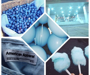 american apparel, balloons, and berries image