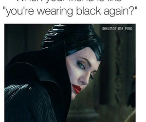 Angelina Jolie, clothes, and black image