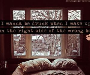 drunk, ed sheeran, and Lyrics image