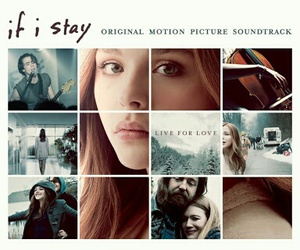 if i stay, movie, and soundtracks image