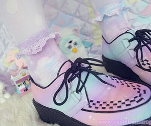 pastel, shoes, and kawaii image