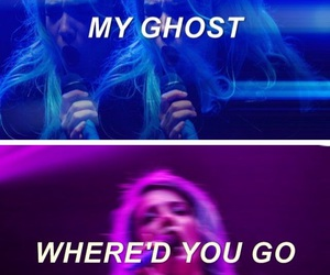 halsey, edit, and ghost image