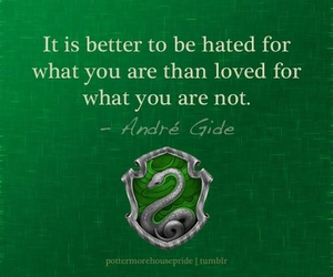 quote, slytherin, and harry potter image