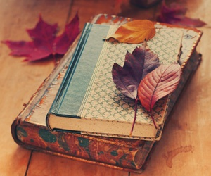 autumn and book image