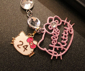 hello kitty and pink image