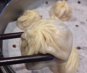 yummy, asian food, and steamed dumplings image