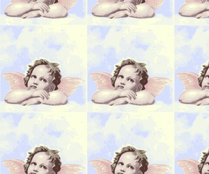 angel, pattern, and background image