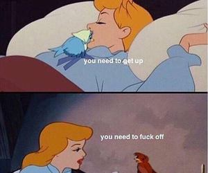 cinderella, wake up, and monday image