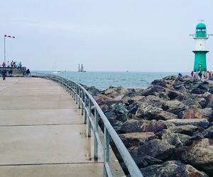 baltic, lighthouse, and sea image