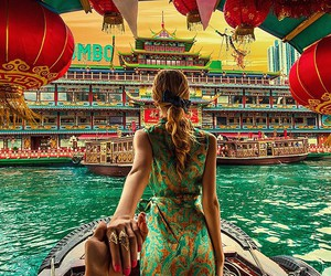 travel and hong kong image