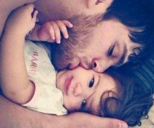love, baby, and father image