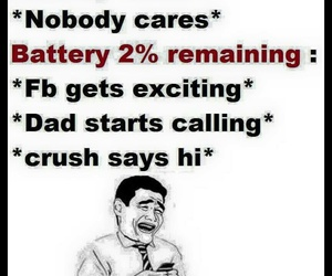 battery, funny, and irony image