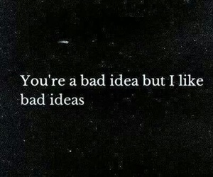 quotes, bad, and love image
