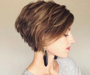 blonde, haircut, and inspiration image