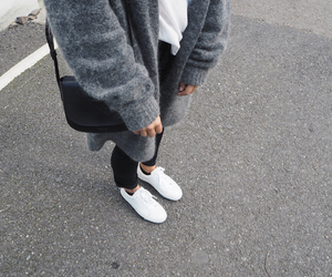 blog, cardigan, and outfit image