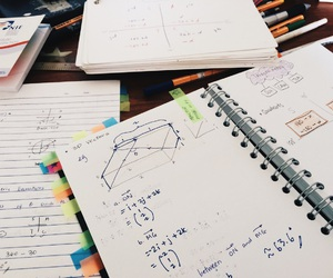 maths, stress, and study image