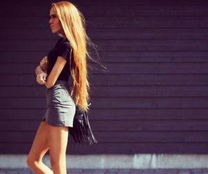 fashion, hair, and blogger image