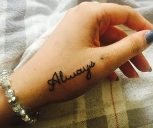 always, bracelet, and hand image