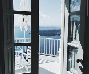 blue, summer, and white image