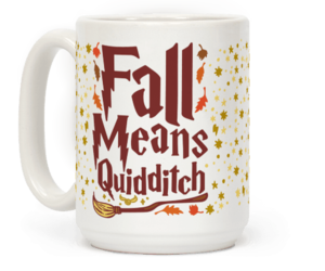 fall, harrypotter, and mugs image