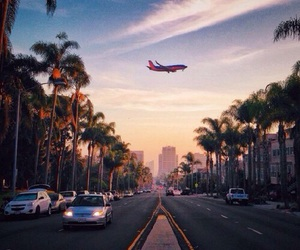 travel, airplane, and beautiful image