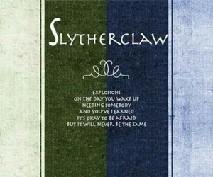 ravenclaw, slytherin, and slytherclaw image